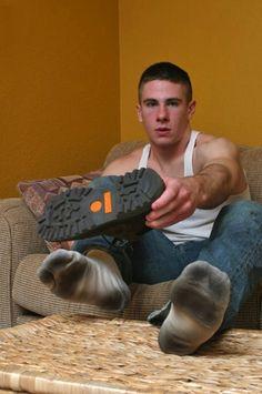 Gay feet foot sock shorts chav