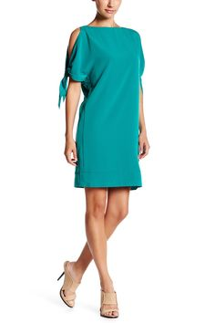 Tie Sleeve Shift Dress by Julia Jordan on @nordstrom_rack