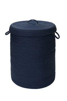 navy rope bin