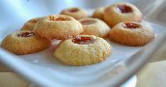 Ricetta biscotti con la marmellata thumbprint cookies