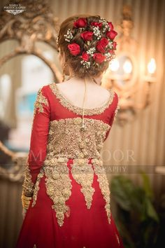 Red Dulhan Maxi in Lahnga Shape.Bridal Lahnga Maxi With Pure Dabka Nagh Zari And Pearls Work.Walima Bridal And Groom Dresses Available In All Sizes. Bridal Mehndi Dresses, Bridal Dress Design, Bridal Outfits, Bridal Lehenga, Bridal Style, Pakistani Bridal Hairstyles, Pakistani Wedding Dresses, Bride Hairstyles, Romantic Bridal Updos