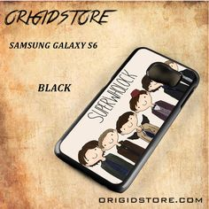 Superwholock Black White Snap On 3D For Samsung Galaxy S6 Case