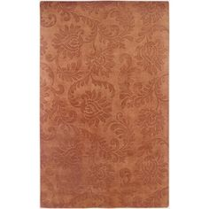 """* Carmel Decor's Uptown Rust UP2348 By Rizzy Home, 5'6"""" x 8'6"""" - $700"""