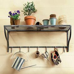 Decor Look Alikes |  Ballard Designs Metal Potting Shelf $99 vs $19.99 @IKEA USA