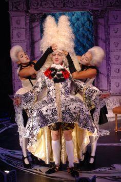 Rami Margron, Danny Scheie, and Lyndsy Kail in Restoration Comedy, 2006. #calshakes40th