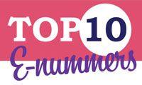 Top 10: producten met veel E-nummers