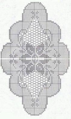 Graphiques au crochet variés - picture for you Crochet Table Runner Pattern, Crochet Doily Diagram, Filet Crochet Charts, Crochet Doily Patterns, Crochet Tablecloth, Thread Crochet, Crochet Designs, Crochet Stitches, Crochet Dollies