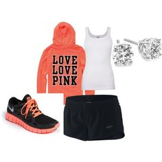Nike + Victoria Secret = perfect outfit! PLEASE! YES!
