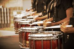 The Drumline   #Drumline competition with one of the best drumlines in the nation.