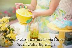 How to Earn the Junior Girl Scout Social Butterfly Badge-Complete Meeting Plans