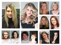What a difference a cut and color can make by the Michael Christopher team & makeup by Kristina cosmetics . Looking to change it up for Spring , we can help . Call 302 658 0842 www.michaelchristopher.com