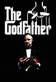 The Godfather movie poster.  One of the most iconic movies (and best).  Ever.