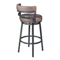 The look of the Modern is at your fingertips when you incorporate this stylish Contemporary Barstool into the comfort of your home. Beautifully complimenting any at home bar, kitchen, dining or game r