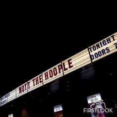 Front entrance to the Hammersmith Apollo in London on October 1, 2009, night of the first Mott The Hoople reunion show. (Photo by Rob Monk/Classic Rock Magazine/TeamRock via Getty Images)