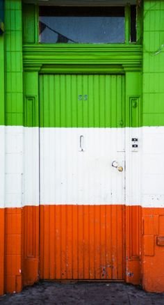 Ireland: The tri-colours of Ireland (Eire), as seen on the Irish flag. Ireland (Eire) is not part of Britain and is its own republic.