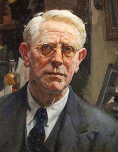 Self Portrait by William Charles Penn RI