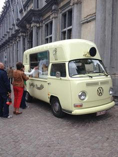 Quite Possibly The Coolest Ice Cream Van Ever! Volkswagen ...