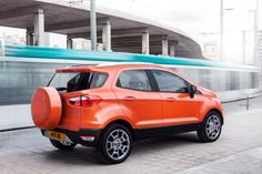 @Ford Motor Company has partnered with #Spotify to bring their music service into the new compact SUV, the #Ford #EcoSport which goes on sale later this year