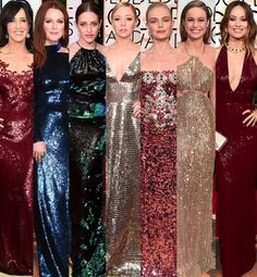 2016 Golden Globes Red Carpet Trend: Carly Chaikin Brie Larson Olivia Wilde And More Shine In Sparkles #news #fashion #world #awesome
