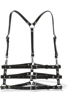 Zana Bayne - Valentina Leather Harness - Black - M