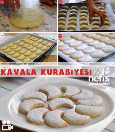 Kavala+Kurabiyesi+Tarifi Biscuits, Cereal, Food And Drink, Tart, Meals, Cookies, Baking, Fruit, Breakfast