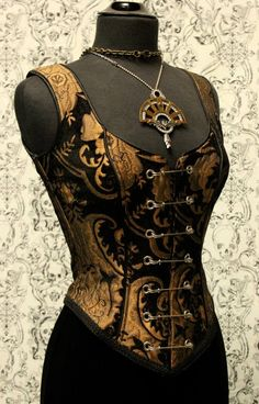 If I could get my mom or maybe my best friend into this for the wedding...  Shrine of Hollywood - Rock Couture, Gothic Clothing, Victorian Clothing, Punk Clothing, Steampunk Clothing
