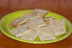 Gluten Free Sesame Crackers