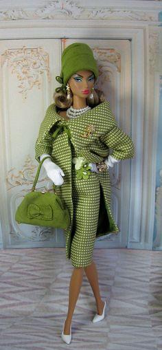 a  carreaux  vert chic hivers **+