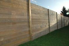 Palissade bois PARANA - Deck-linéa: Jardin de style Classique par Deck-linéa