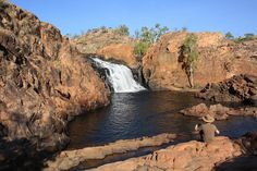 Edith Falls, near Katherine, Northern Territory, Australia -- camping in the outback? Check