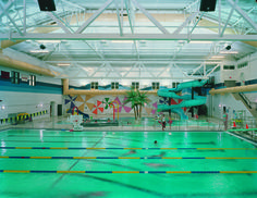 The Aquatic Center at Hartland High School. Photo courtesy Kingscott Associates.