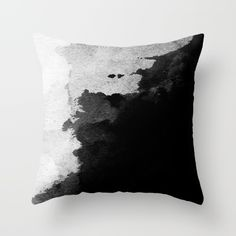 Watercolor Throw Pillow by Andre D - Cover x with pillow insert - Indoor Pillow Fluffy Pillows, Couch Pillows, Down Pillows, Sofa, Girls Room Design, College Dorm Decorations, Small Room Bedroom, Bedroom Ideas, Horror House