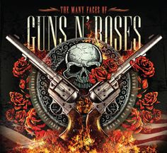 "CD ""The Many Faces of Guns N Roses"""