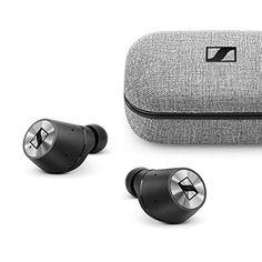 Sennheiser Momentum True Wireless in-Ear Bluetooth Headphone with Multi-Touch Fingertip Control (Black) Bose Wireless Earbuds, Sennheiser Headphones, Best In Ear Headphones, Amazon Black Friday, Dancehall Reggae, Usb, Multi Touch, G Shock, Smartphone