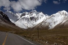 The Karakoram Highway, China-Pakistan | Starting in Kashgar, China, cyclists can travel up to 1,200 kilometers on mostly unpaved roads, but the views are as breathtaking as the riding.