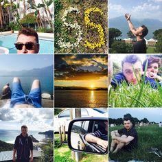 Pin for Later: Euer Sommer wird nie enden mit diesen Urlaubsfotos der Stars Sam Smith