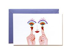 I have a good ideaArt print-Postcard by Pionara on Etsy