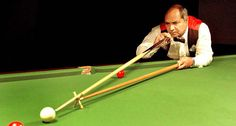 Muhammad Yousaf, Pakistan's Snooker Hero.  He is the winner of IBSF World Snooker Championship (1994),  ACBS Asian Snooker Championship(1998),  IBSF World Masters Championship (2006).  Muhammad Yousaf made a National record by winning National Championship for consecutive seven years