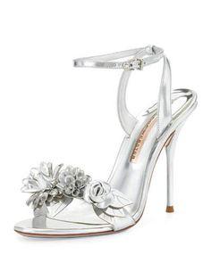 2f9ee8a2e63f2d Women s Designer Sandals at Neiman Marcus. Strappy Sandals HeelsFloral  SandalsLeather SandalsMetallic SandalsShoes HeelsShoe ...