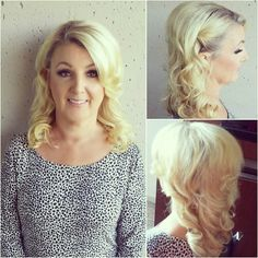 fabulous vancouver wedding Wedding Trial for the lovely Lorraine! #curls #thebride #weddings #halfuphalfdown #hollywoodglam #glamourous #hairstyle #hair #blondehair by @bmhair  #vancouverwedding #vancouverwedding
