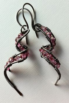 Pink topaz and silver | Flickr - Photo Sharing!