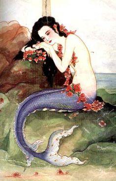 Beautiful mermaids pictures - Hot sexy mermaid pictures posts beautiful mermaid art from many different mermaid artists. Siren Mermaid, Sea Siren, Mermaid Fairy, Mermaid Lagoon, Fantasy Mermaids, Mermaids And Mermen, Real Mermaids, Art Magique, Water Nymphs