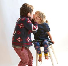 Lovely pic on coos & ahhs: This brother and sister are wearing @tootsamacginty #kidsstyle