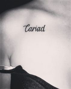 My new tattoo💕 so proud to be Welsh and to speak my country's language💕 Cariad💕 Ankel Tattoos, Forarm Tattoos, Pisces Tattoos, Mom Daughter Tattoos, Tattoos For Daughters, Mini Tattoos, Flower Tattoos, Welsh Symbols, Last Name Tattoos