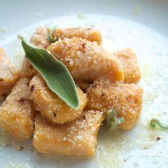 gluten-free sweet potato gnocchi