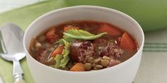 Lentil, Kielbasa, and Garlic Stew - GoodHousekeeping.com