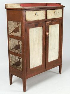VIRGINIA PAINTED YELLOW PINE AND POPLAR FOOD / PIE SAFE Jeff Evans auction, 03/05/2014, $4025.