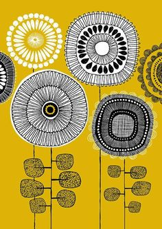 inspired by vintage poster art, mid-century   http://exploringuniversecollections.blogspot.com