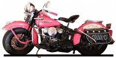 1947 Harley Davidson Flat Head Motorcycle