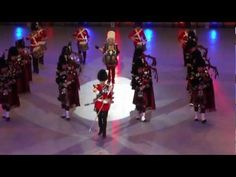 Pipes and Drums of The Royal Scots Dragoon Guards - YouTube